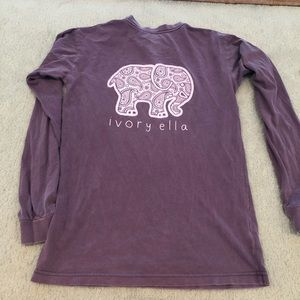 Ivory Ella Long Sleeve T-Shirt